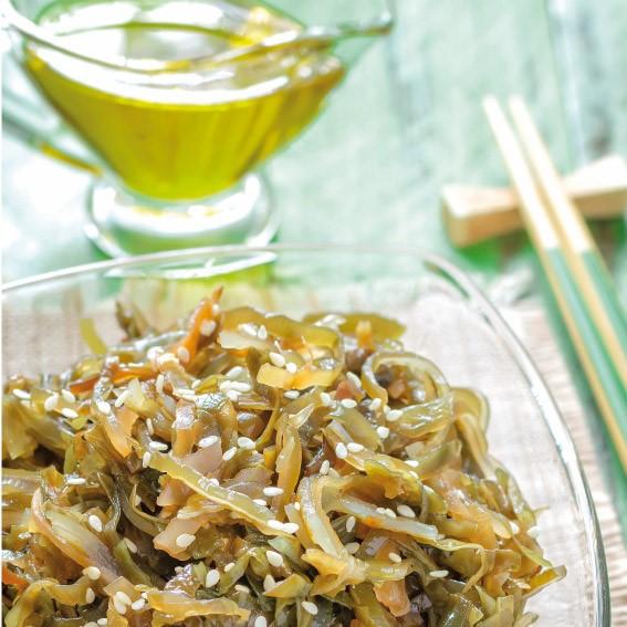 Koken met zeewier