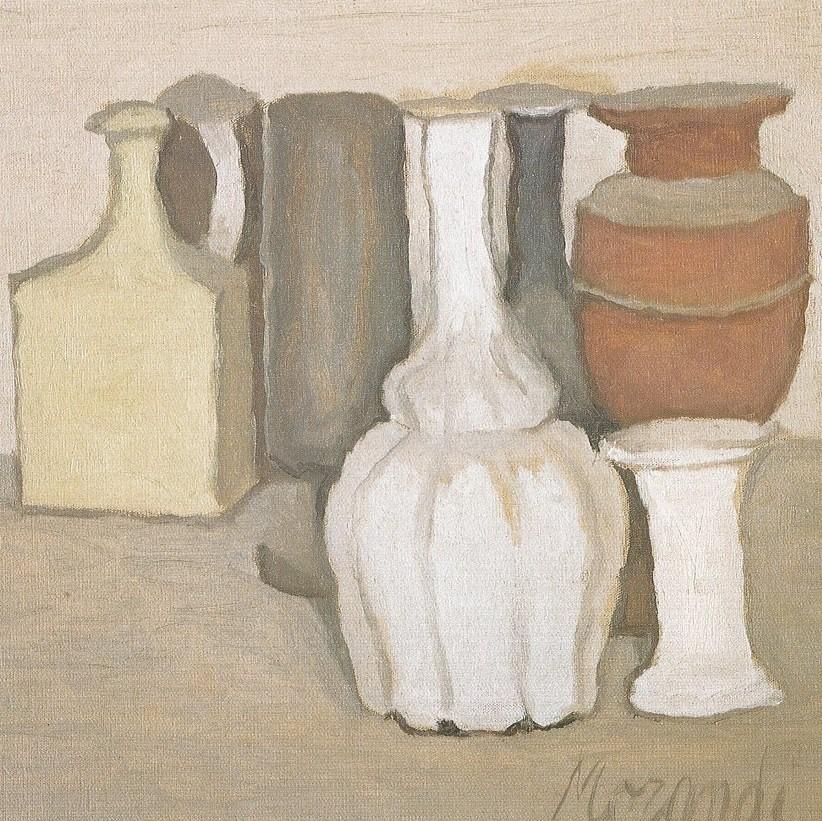 Giorgio Morandi in museum Belvédère - 2 lezingen