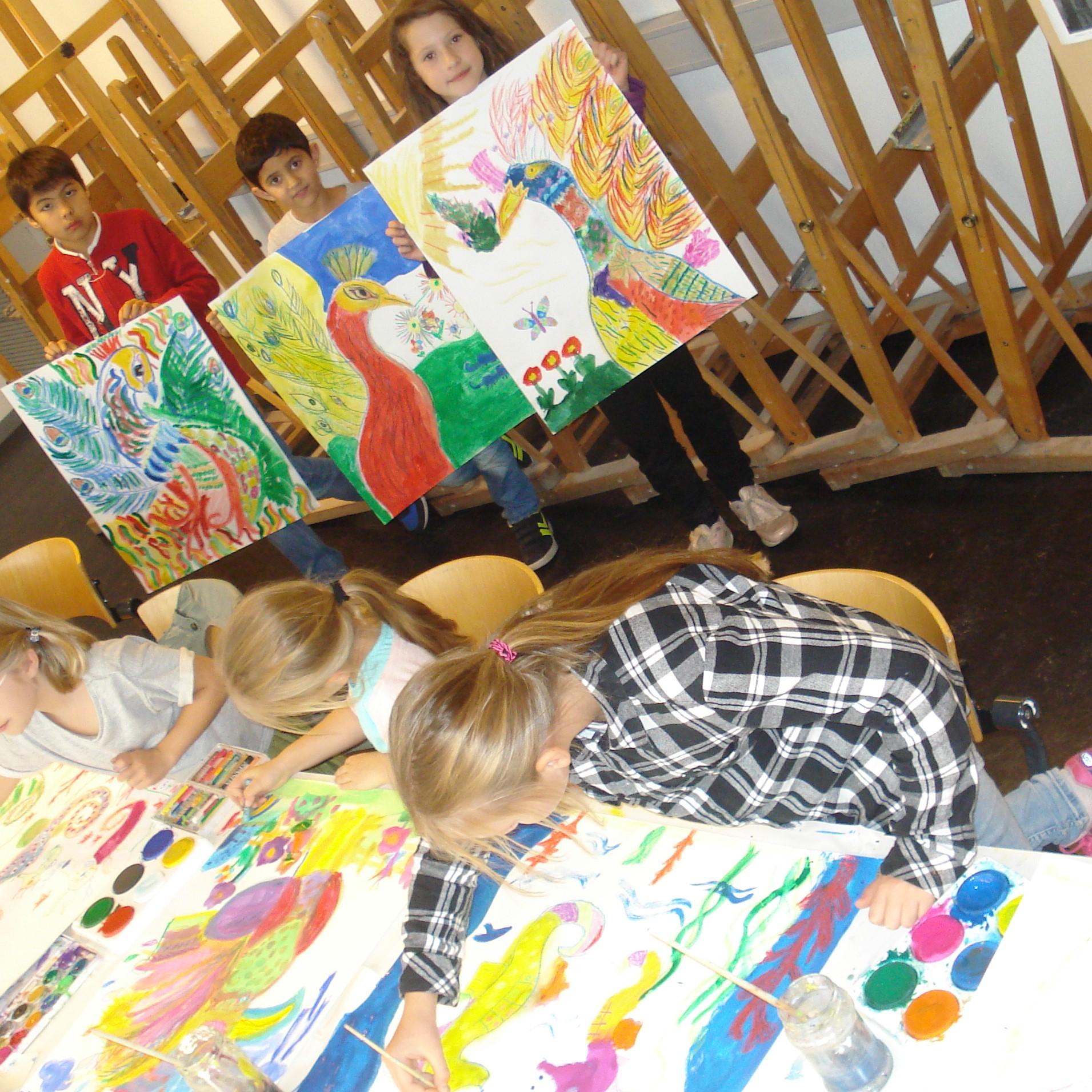Talentenklas maandag (6-12 jaar) - creatief