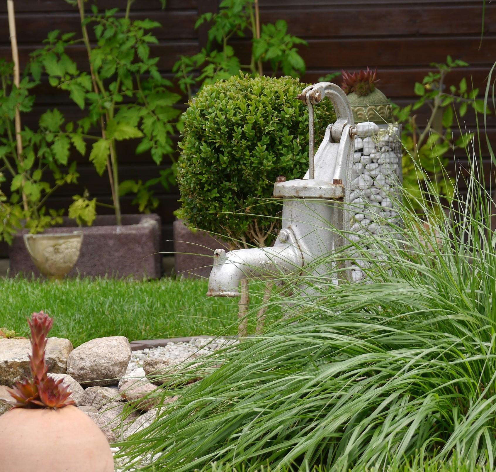 Een groene tuin zonder onderhoud!