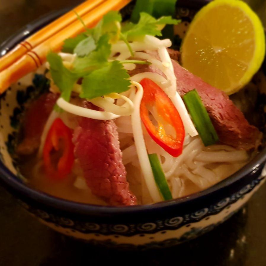 Vietnamese keuken: Pho (maaltijdsoep)