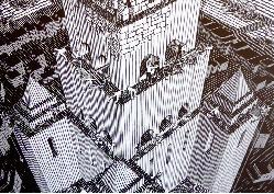 Lezing, Escher terug in Leeuwarden