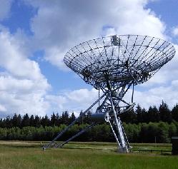 Lezing Astronomie, radiotelescoop Dwingeloo