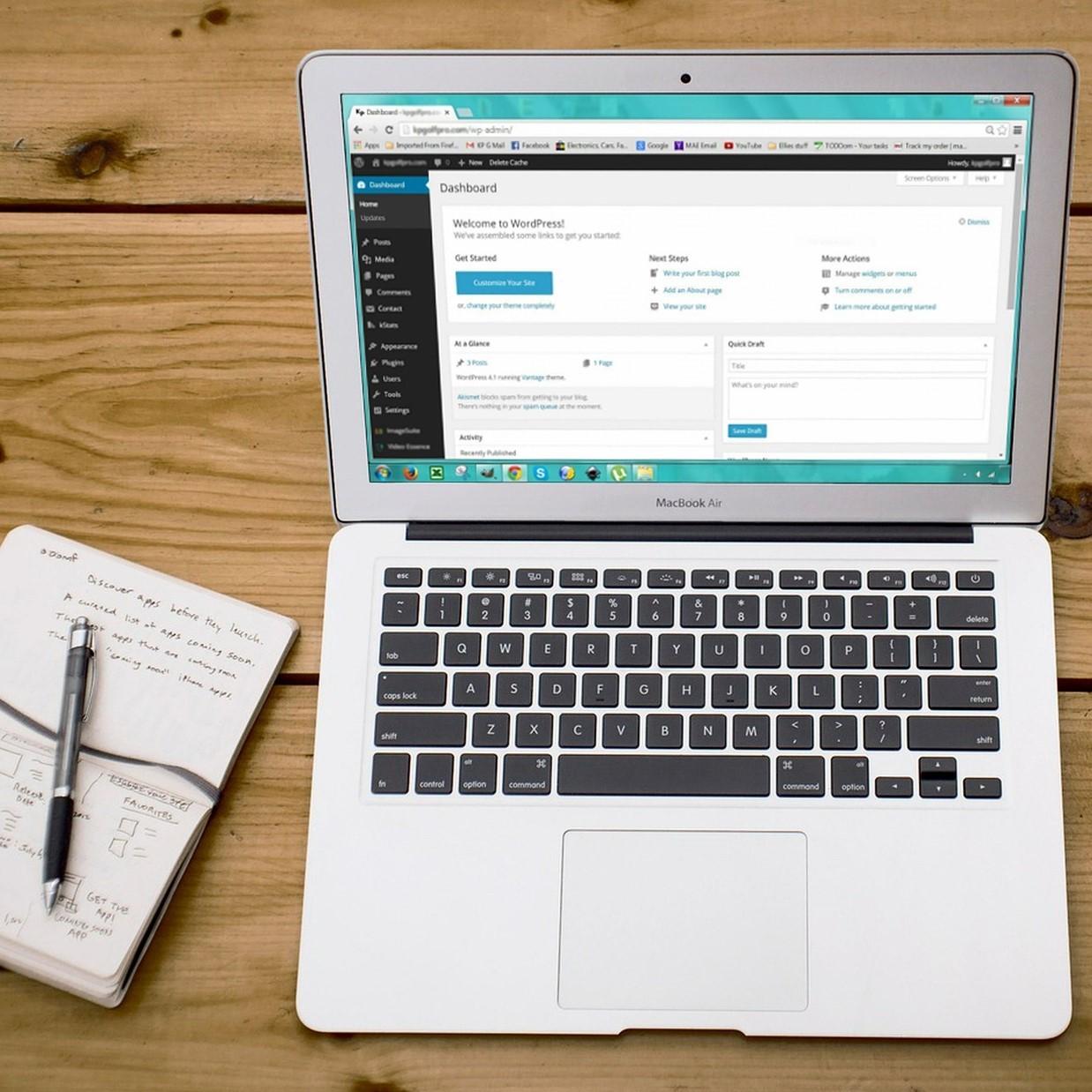 Maak je eigen website; WordPress voor beginners