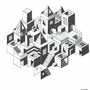 Tekenen in de lijn van Escher