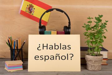 Spaans, basis 1 (A1)