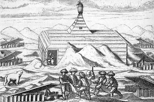 Overwintering op een ijsschots, de KNMI poolexpeditie van 1882-1883