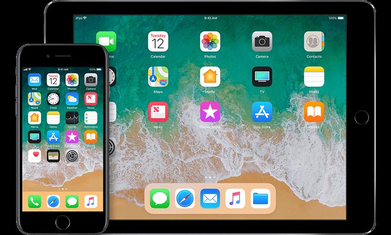 iPad en iPhone, het basisgebruik