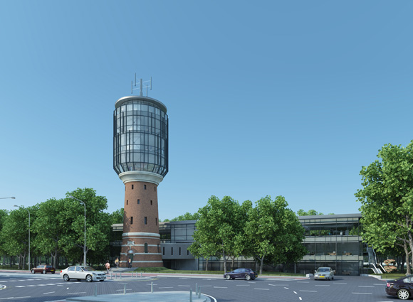 Watertoren in Bussum