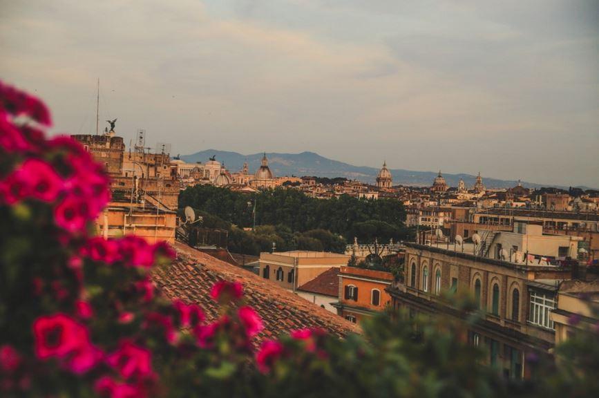 Dwalen door Rome