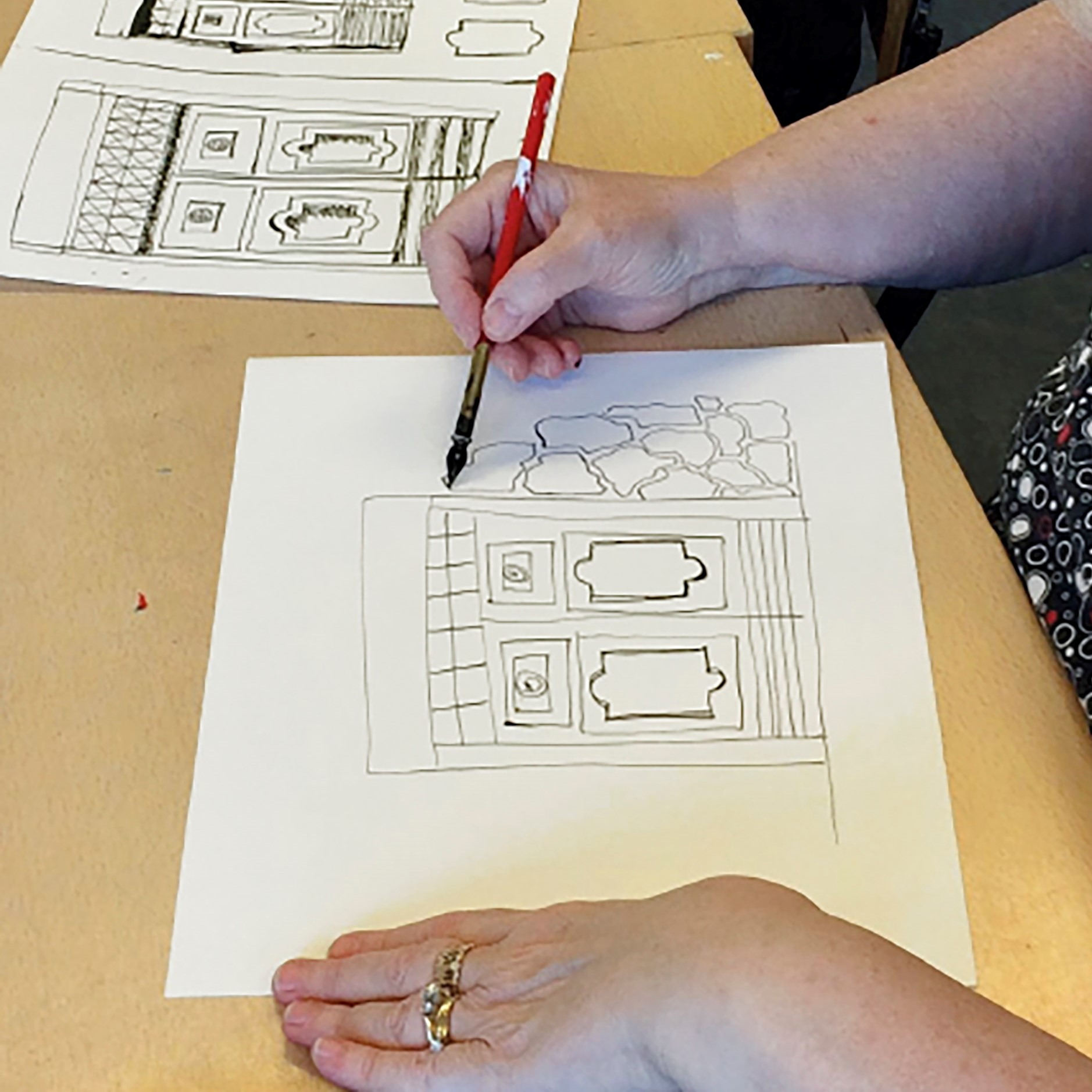 Technieken en materialen van het tekenen - beginners en gevorderden