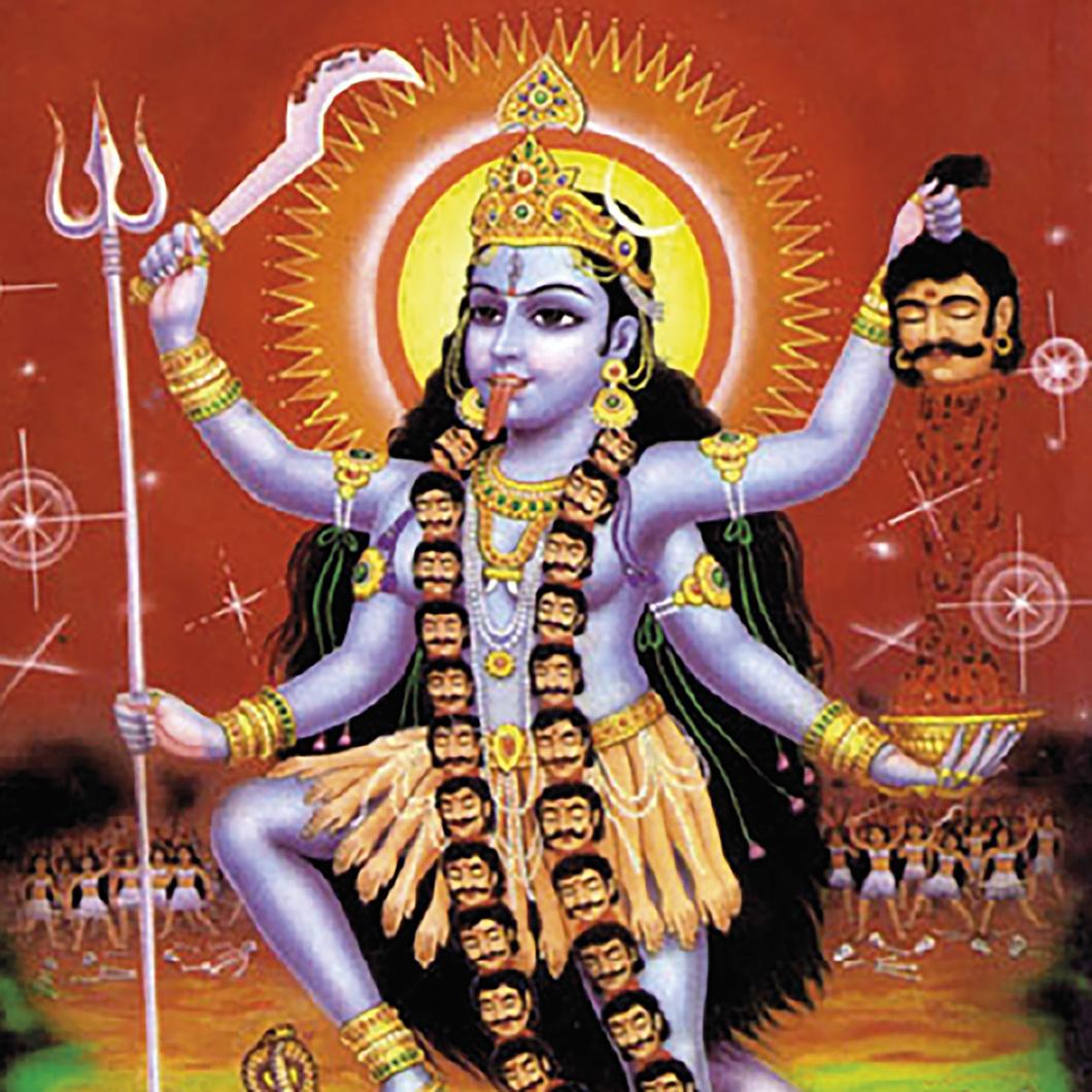 Hindoe godinnen: wild of mild, moeders of monsters
