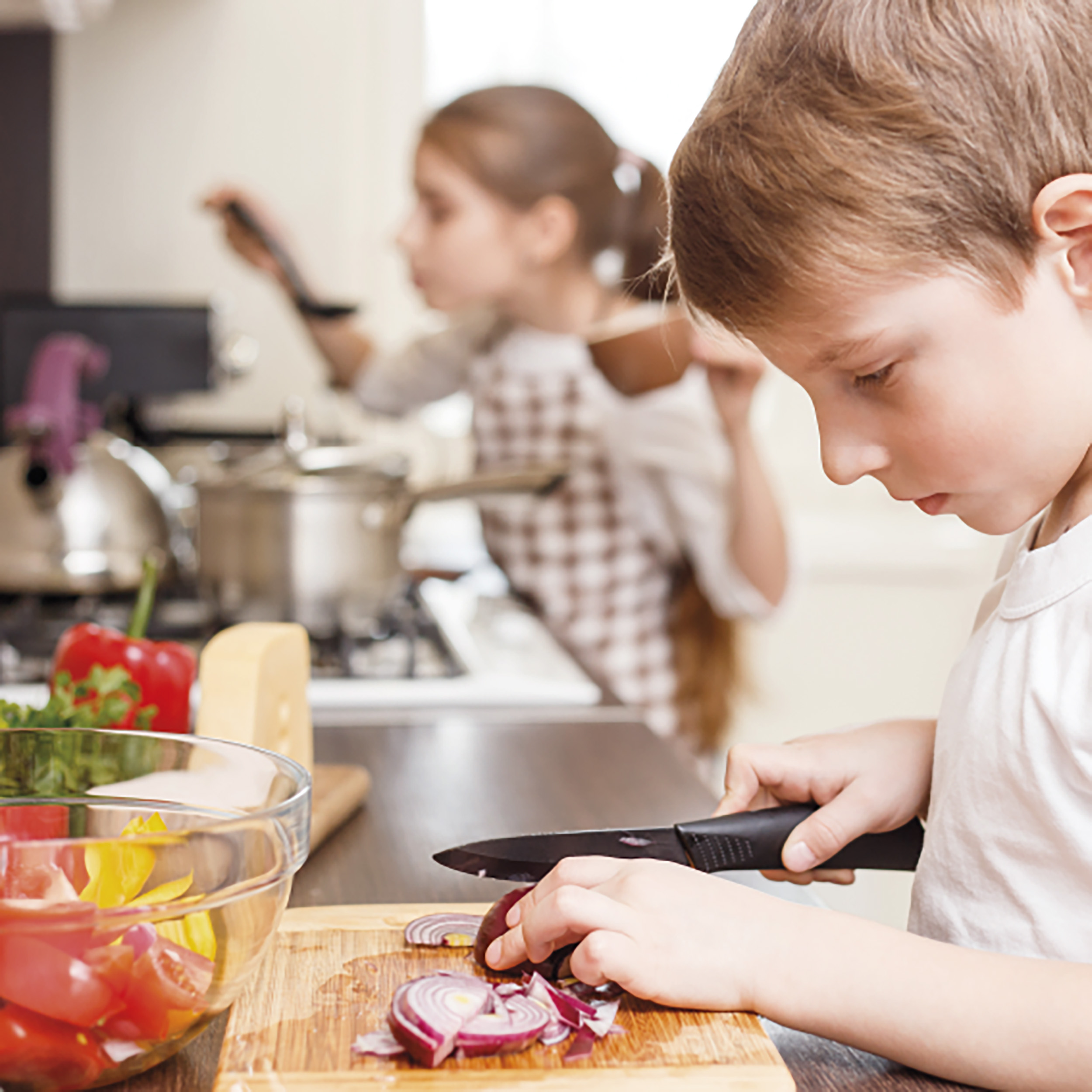 Cooking for children 6-12 years