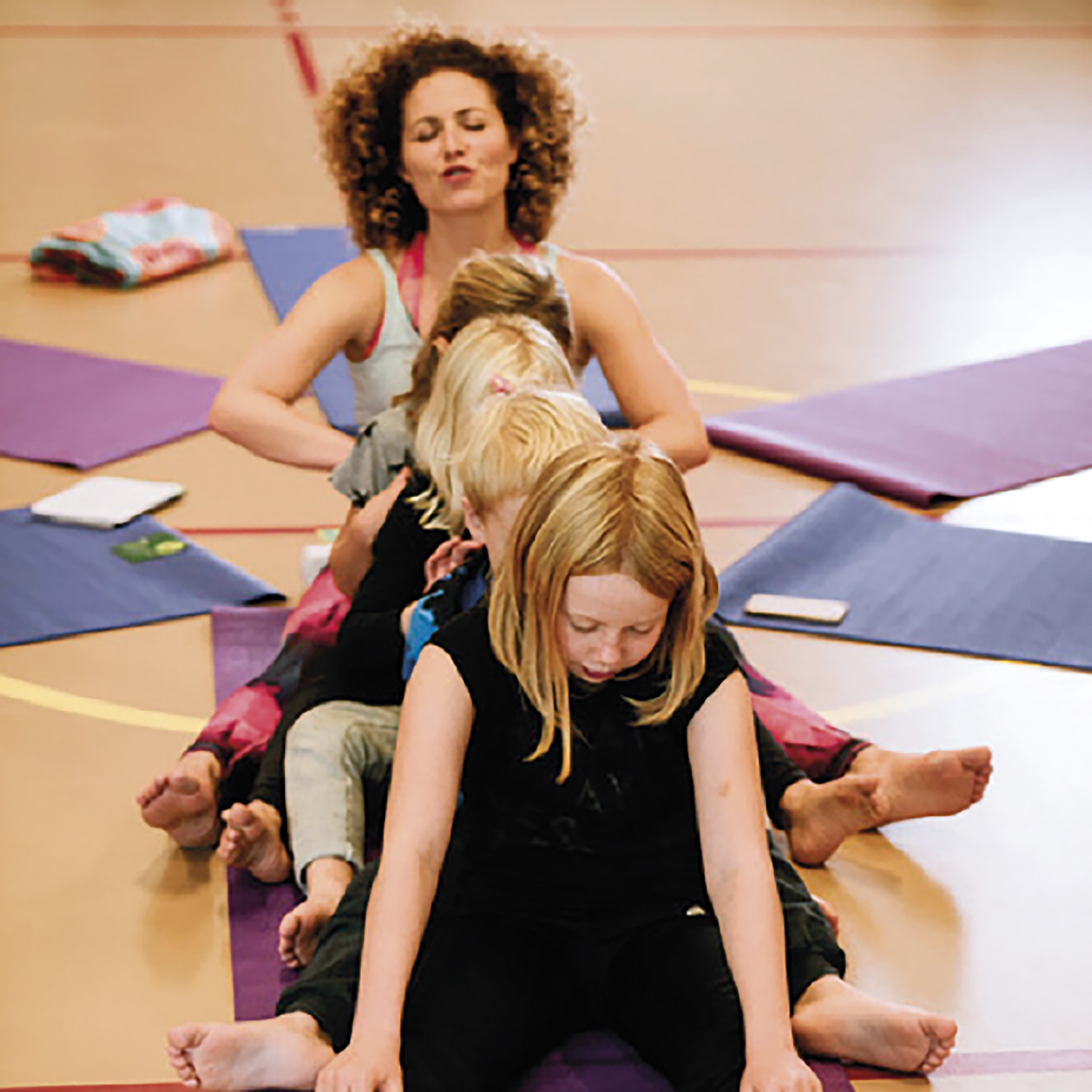 Yoga for Children between 8 and 12
