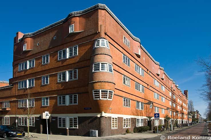 Amsterdam - De Pijp/Amsterdamse School (A)