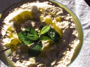 De vegetarische Arabische keuken
