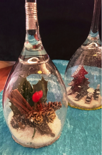 Kerstglas maken (workshop)