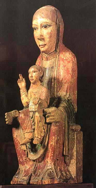 Vierges Romanes en Zwarte Madonna's
