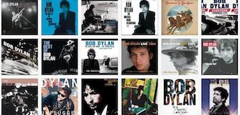 Bob Dylan albums