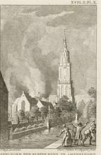 Het springen der kleine kerk in Amersfoort