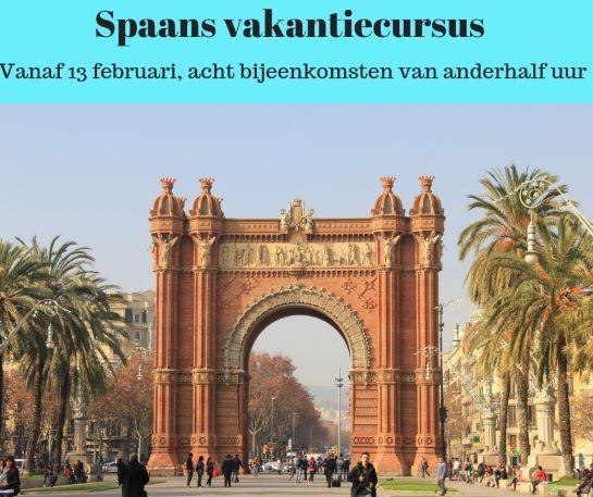 Spaans, vakantiecursus