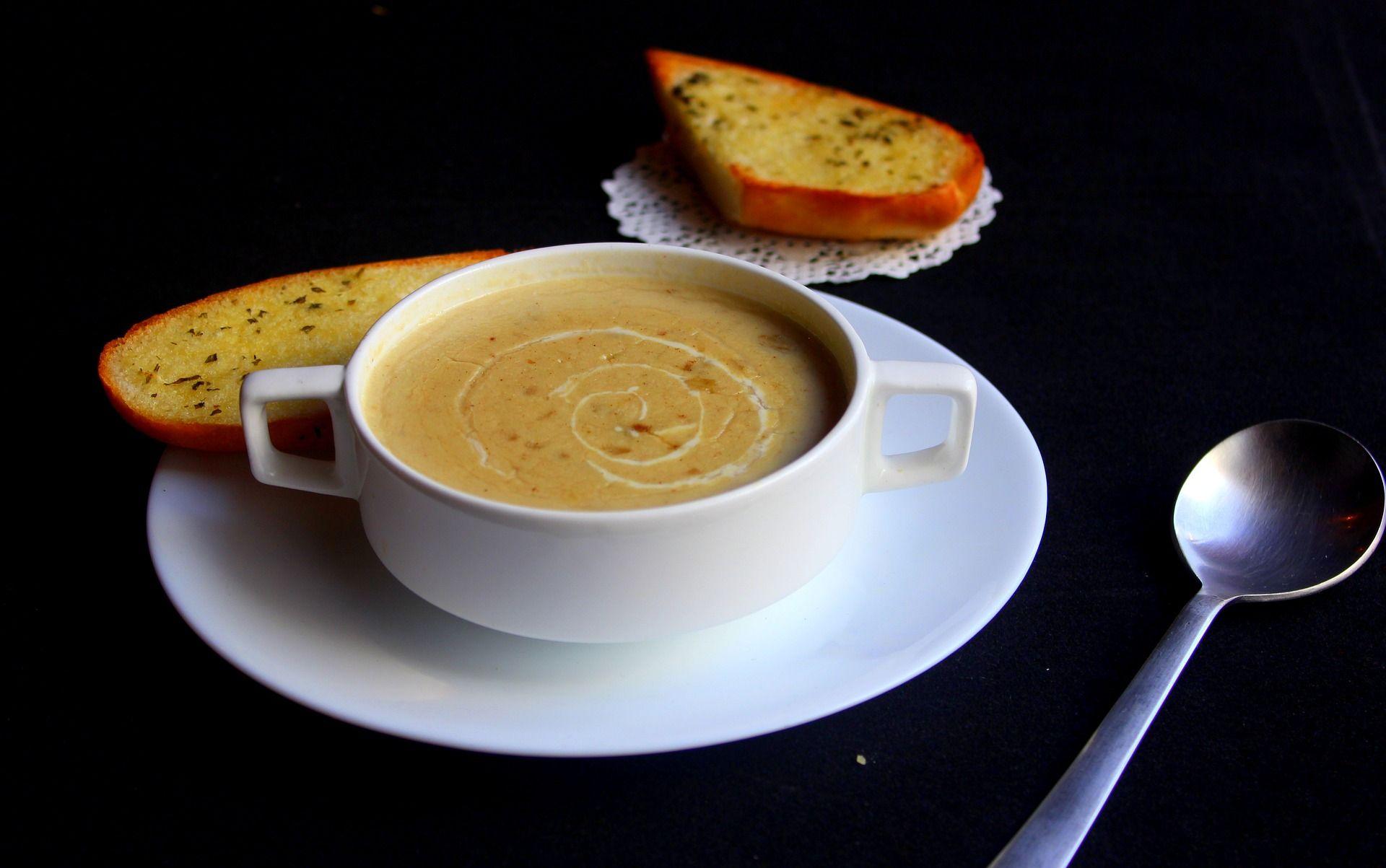 Soep met brood