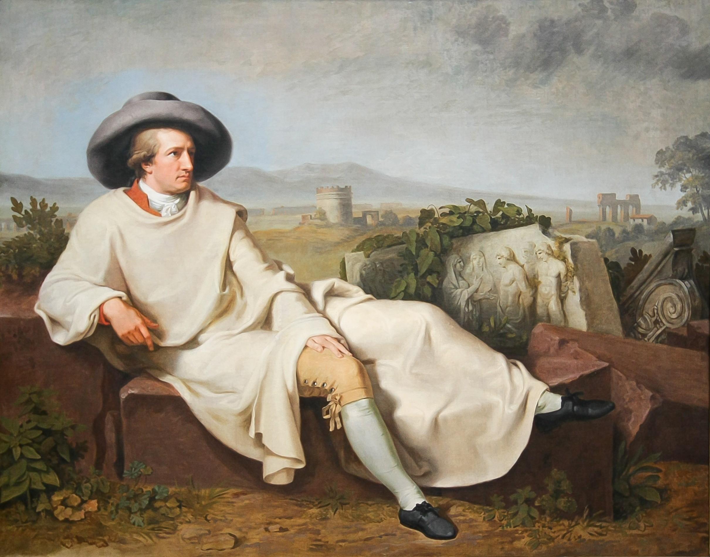 Wie is Goethe