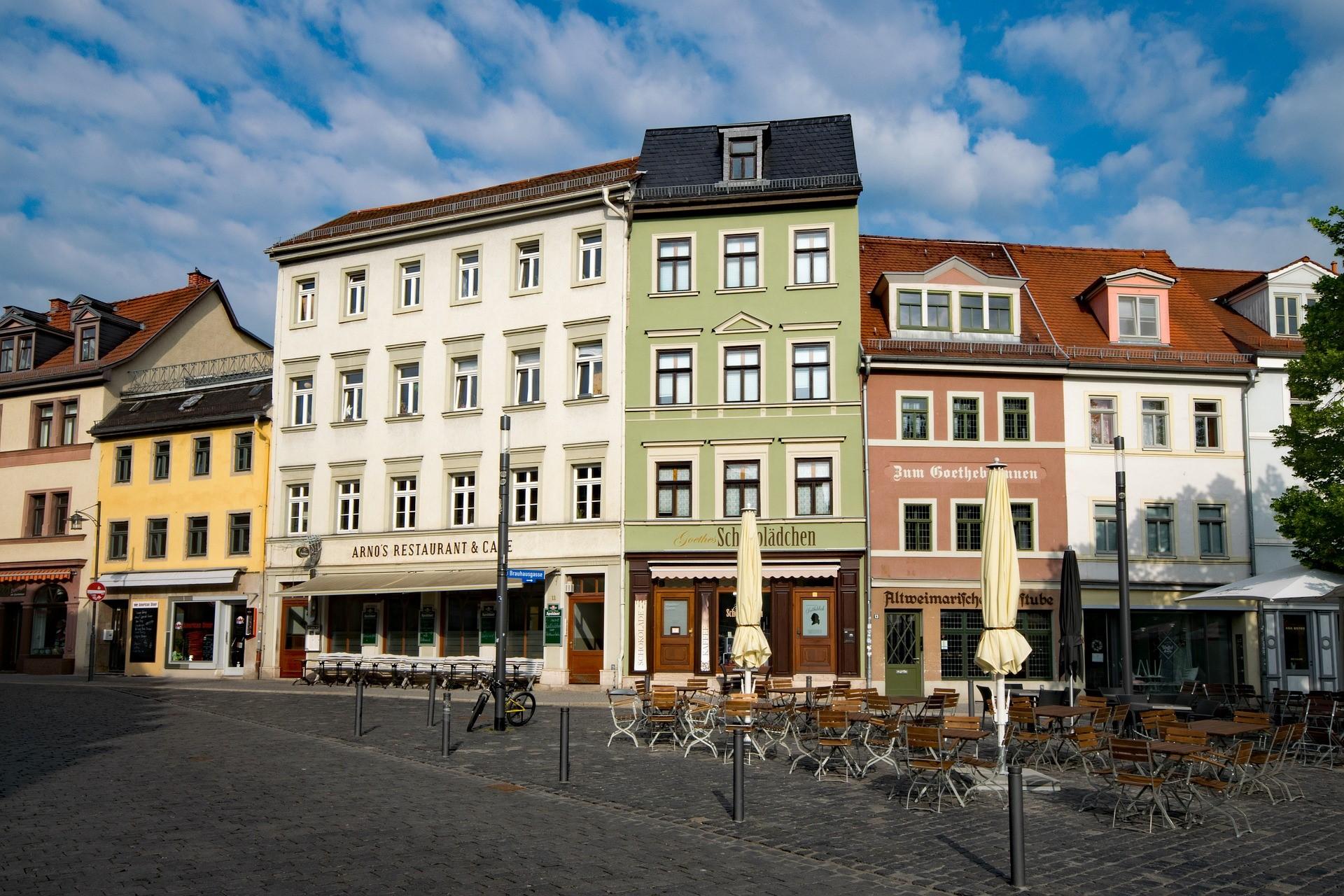 Een wandeling door Weimar en Thüringen