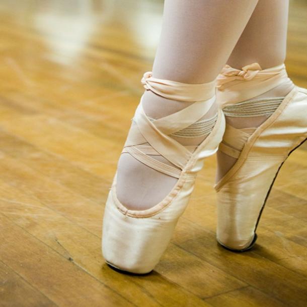 Ballet op spitzen