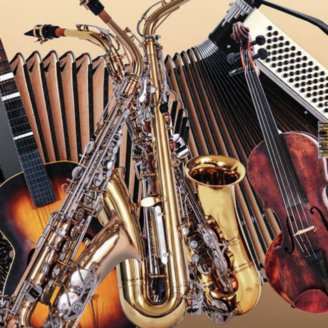Basiscursus muziek met instrumentencarrousel