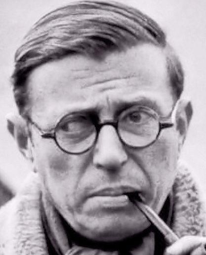 Het leven en denken van filosoof Jean Paul Sartre