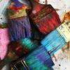 Creatief schilderen met bijzondere materialen
