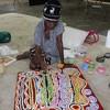 Aboriginal art en vrije letters