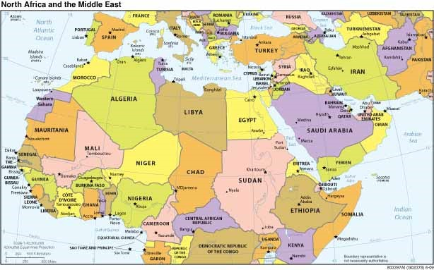 Geschiedenis van het Midden Oosten; van prehistorie tot de 21e eeuw