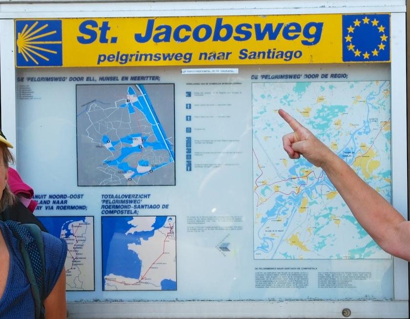Pelgrimeren op alternatieve routes naar Santiago de Compostella