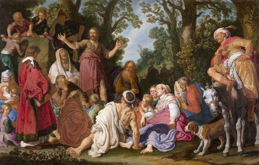 Bijbelse taferelen bij de Hollandse meesters van de Gouden Eeuw