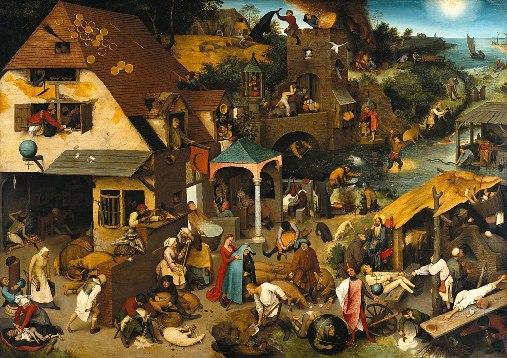 Spreekwoorden en gezegden van Pieter Bruegel