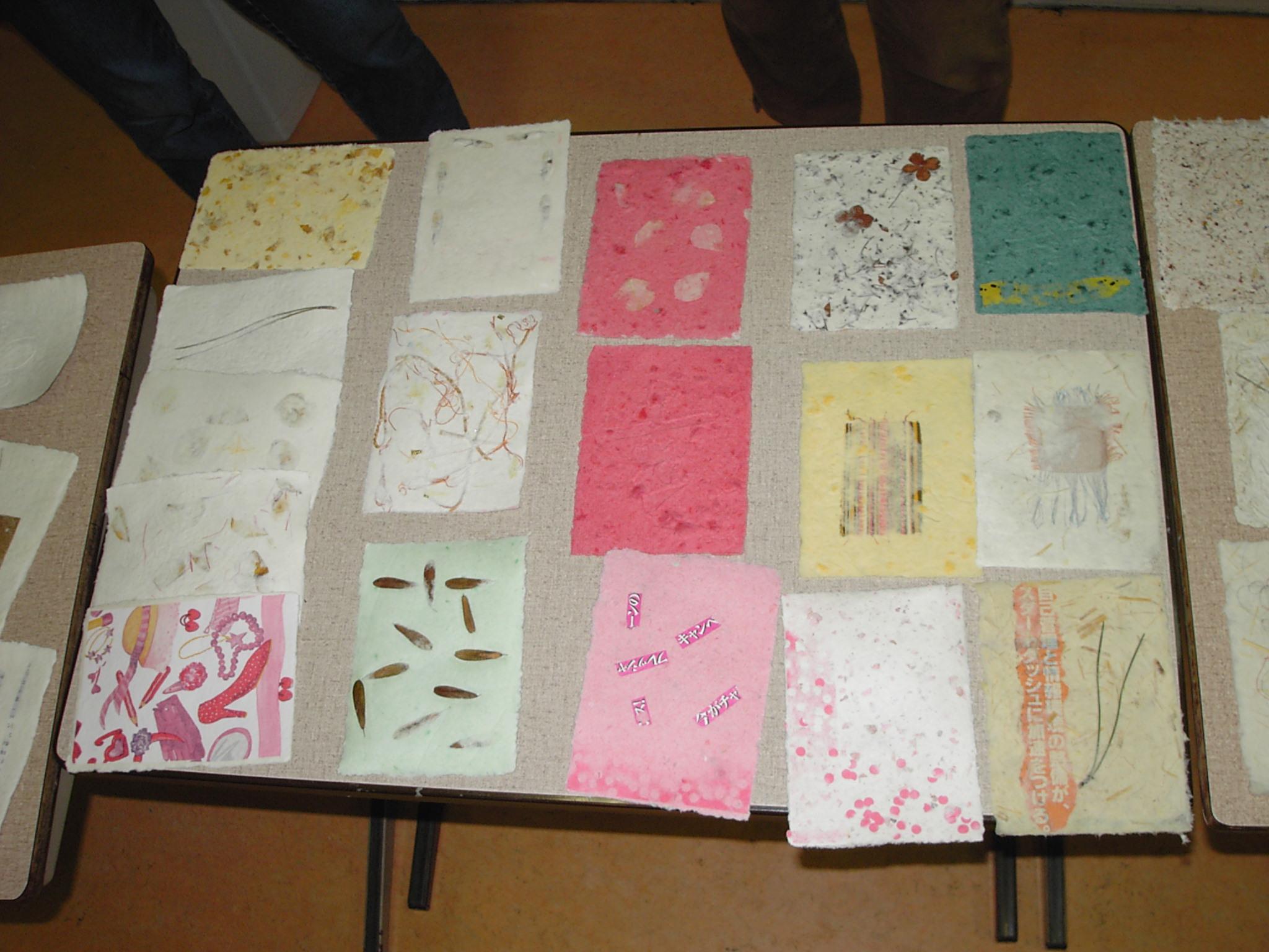 Japans papier ( Kaarten maken)