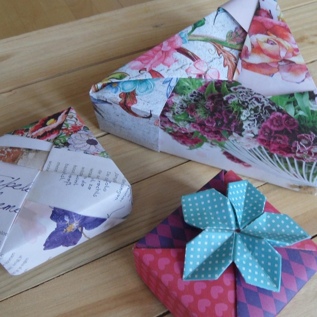 Modular Origami Boxes: een creatieve uitdaging in compositie! - creatief
