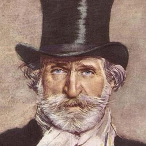 Giuseppe Verdi en Francesco Hayez
