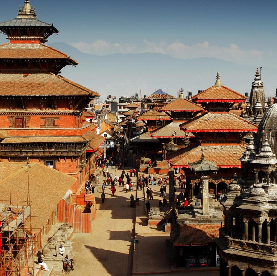 Nepal: bergstaat tussen China en India