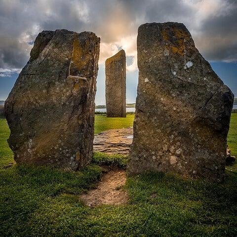 Archeologie op de Orkneys