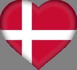 Kort Deens