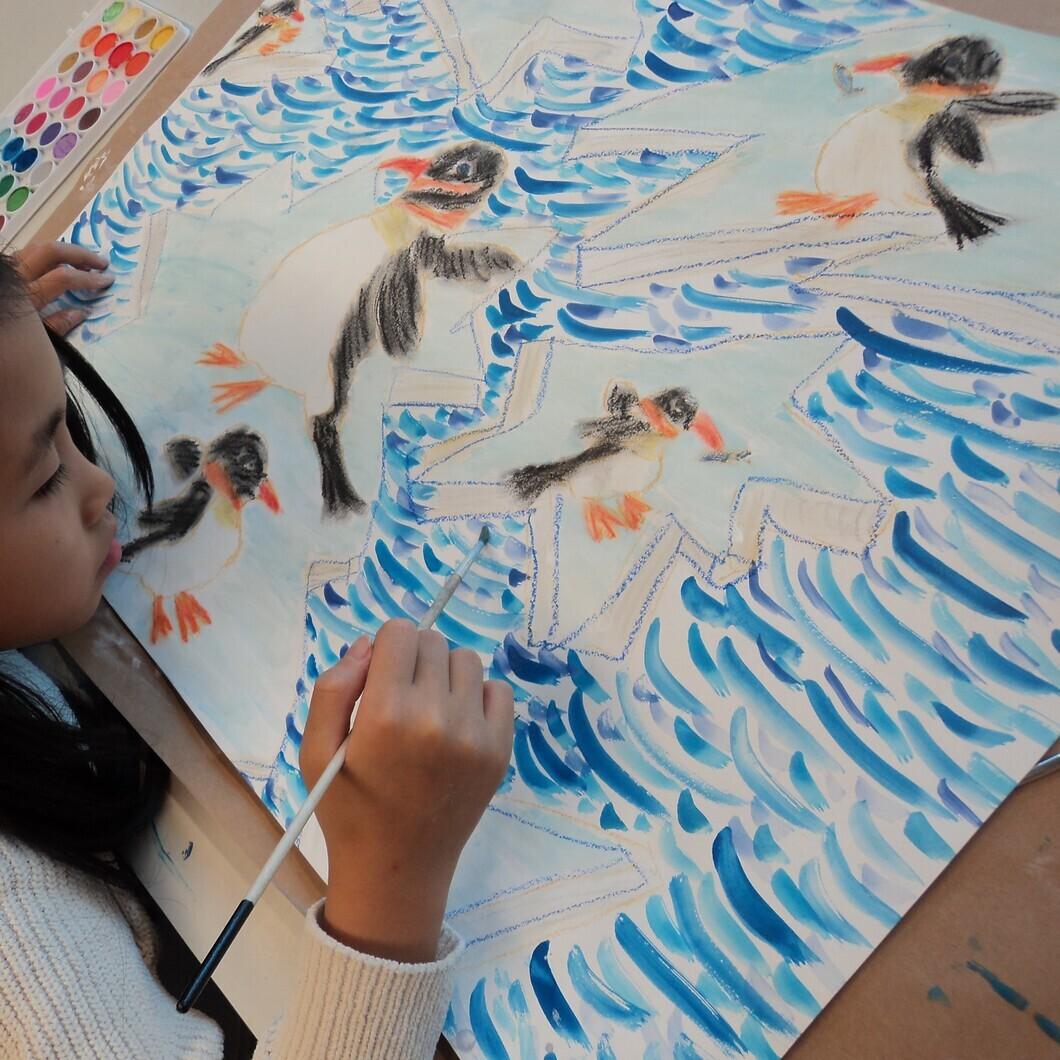 Talentenklas zaterdag (6-12 jaar) - creatief