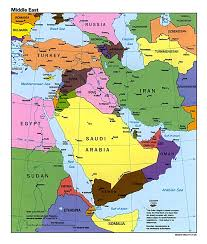 Het Midden Oosten onder de loep: combi van A057, A058 en A059