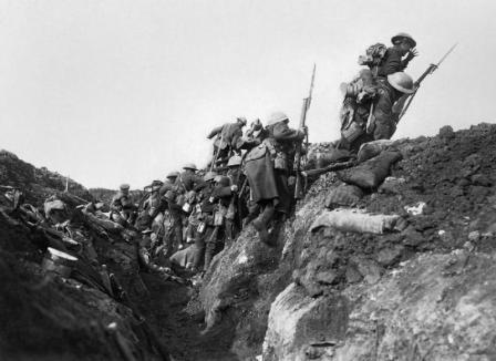 De Eerste Wereldoorlog aan het Westfront