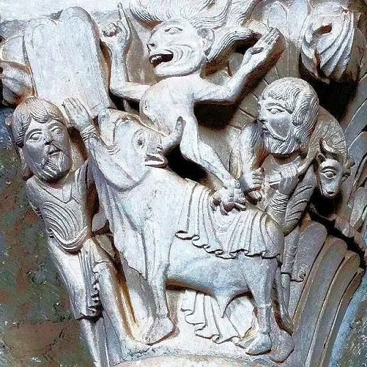 Lezing 2: De symboliek van de wonderlijke wezens in de romaanse beeldhouwkunst