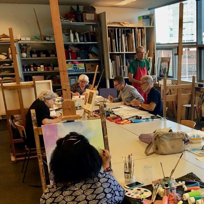 Open atelier - gevorderden - creatief