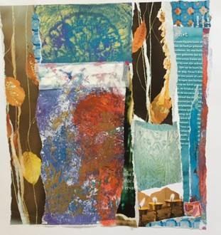 Creatieve Workshop: Gel Plate Prints diverse afdrukmaterialen
