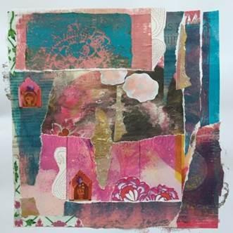 Creatieve Workshop: Collage maken van Gel Plate drukwerk en afbeeldingen